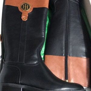 New$200 Tommy Hilfiger woman's riding boots size 7